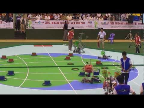 Robocon 2013 - Mi�n Nam - LH-LEGEND vs CKD-NOX