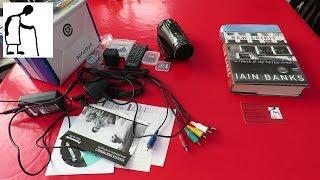 Iain Banks Raw Spirit & Panasonic HDC SD800