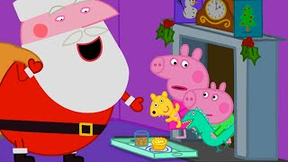 Kids TV and Stories | Peppa's First Christmas | Cartoons for Children
