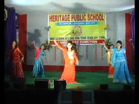Heritage Public School Sonpur(annual Function2012-maine Payal Hai Chankai) video