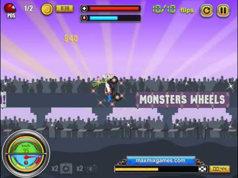 games Monsters' Wheels 1 series игра Монстров Колесами 1 серия