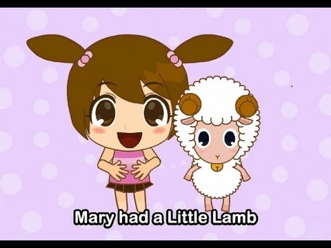 Muffin Songs - Mary Had A Little Lamb    nursery rhymes & children songs wit