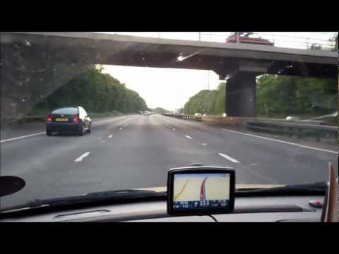 M1 Motorway in England few COOL cars from our trip  during Weekend in UK