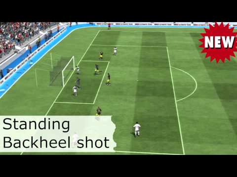FIFA 13 Backheel Shot Tutorial
