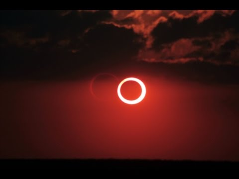 Solar Eclipse Near Sunset May 20, 2012