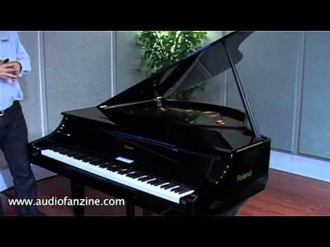 Roland V Piano Grand video demo [NAMM 2011]