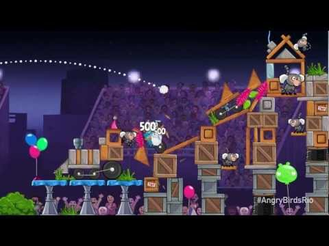 Angry Birds Rio: Now With Power-ups! video