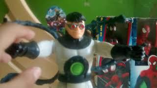 Mi boxin de Thor, spiderman,Miles Morales, doc ock
