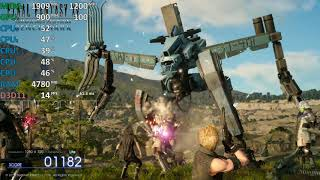 *FFXV Day* Final Fantasy XV AMD A10-7860K R7 iGPU Benchmark Test