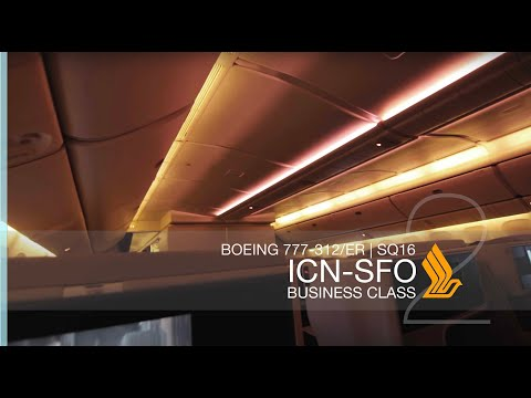 FRP S2E6-2 - Singapore Airlines SQ16 Longhaul Business Class Experience | Seoul - San Francisco