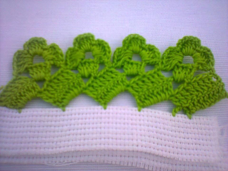 Puntillas Para Servilletas De Crochet