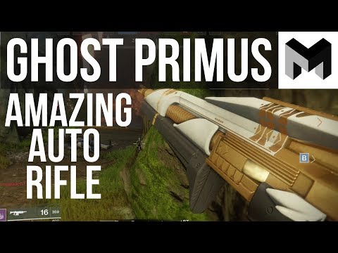 Ghost Primus Review: Destiny 2 Leviathan Raid's Amazing Auto Rifle