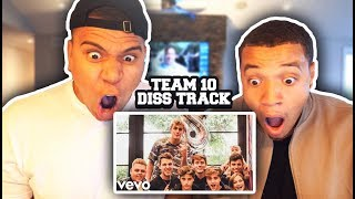 REACTING TO TEAM 10 & JAKE PAUL DISS TRACK (DISS GOD)