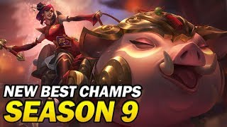 New Best Champions for Season 9 Patch 9.1 for Climbing in EVERY ROLE
