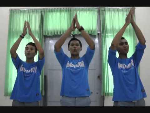 Tutorial & Choreo Chants GLADIATOR SMANSA MAGELANG #1