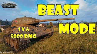 World of Tanks - Epic Gameplay Only [T-34-85M | 1v6, 5000 DMG by bob_the_obese_fat_bloke]