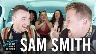 Carpool Karaoke w/ Sam Smith ft. Fifth Harmony