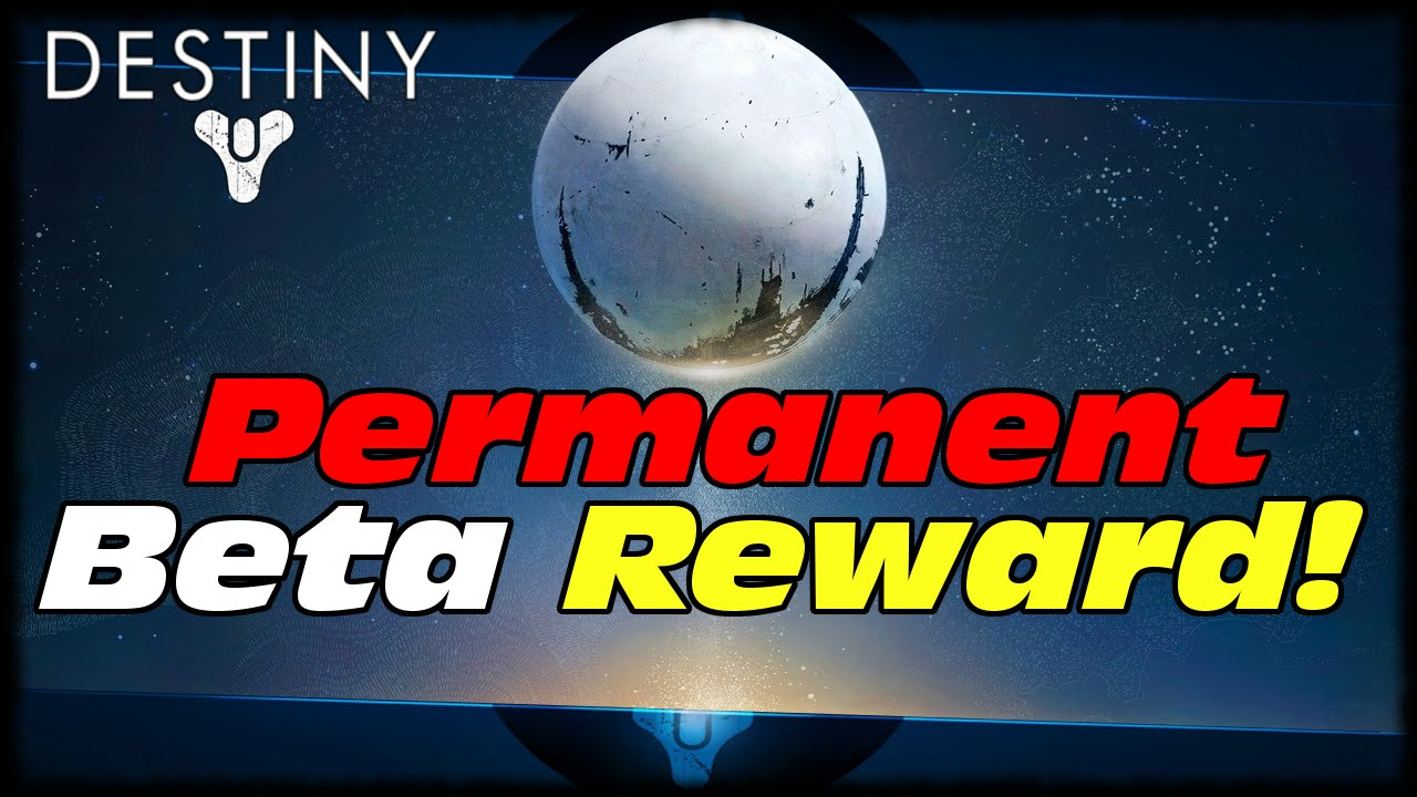 Destiny beta permanent reward from bungie this saturday destiny iron