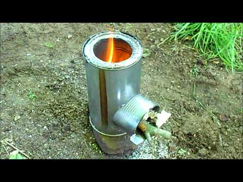 Rocket Stove - Review & Testing
