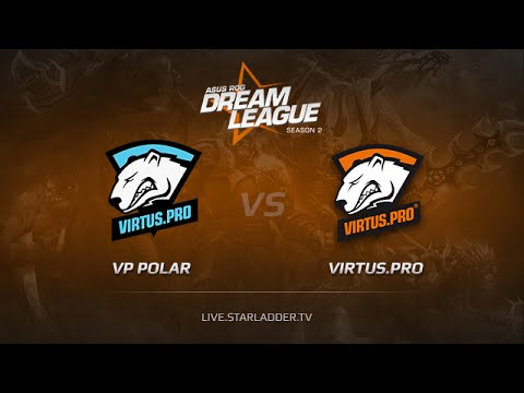 Virtus Pro Polar vs Virtus pro Game 3, Dreamleague S2 Playoffs