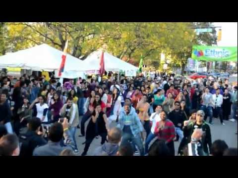 Ethnic Expo Flash Mob @ Columbus, IN   Oct 12th 2012