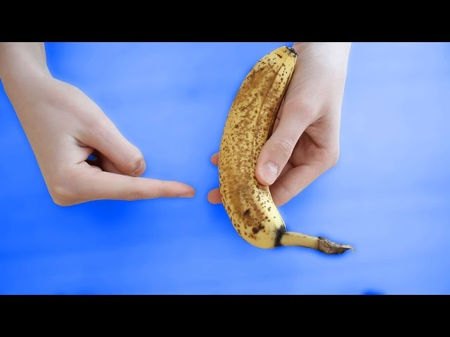 Tour de magie - la banane coupée en 3 ! + explications