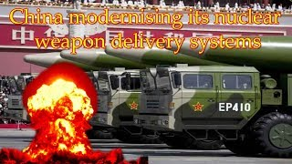 China adds to nuclear arsenal amid military modernisation drive