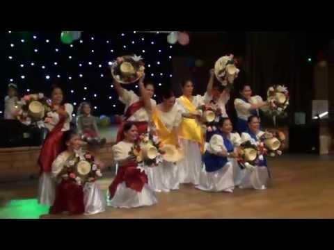 Philippine Folk Dance  Salakot  40th Birthday Clarinette video