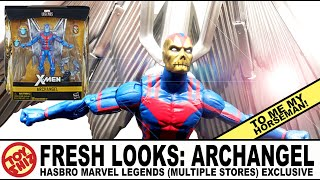 Toy Shiz FRESH LOOKS: ARCHANGEL Hasbro Marvel Legends Excl.