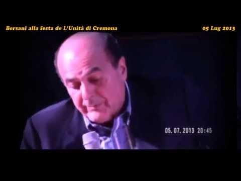 Governo Pd-M5s? Bersani: «mica volevo far l'alleanza con Grillo,solo i voti per partire» (05.07.13)