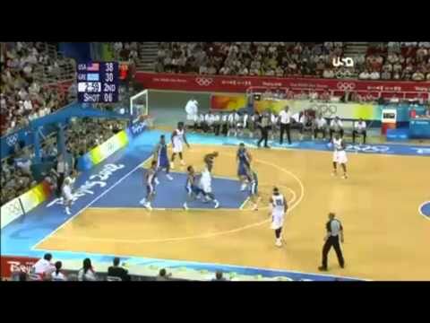 Kobe Bryant's best game 2008 Olympics USA