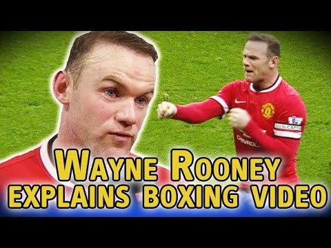 Wayne Rooney explains video of him boxing Phil Bardsley & Louis van Gaal calls it 'ridiculous'