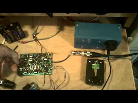 SW-20 QRP CW Rig Initial Tune-Up Procedure - Part 2
