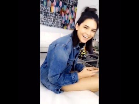 Kendall Jenner Snapchat Story ft. Kylie Jenner, Hailey Baldwin, Gigi Hadid etc. 2016 Part 2