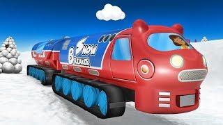 Choo Choo Train - Toy Factory - Cartoon Cartoon - trains for kids - Thomas The Train