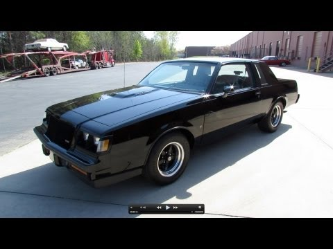 1987 Buick Grand National (Regal T-Type Turbo) Start Up. Exhaust. and In Depth Review