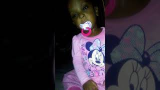 I love my daughter she is sleepy but she fighting her sleep no person can't do that
