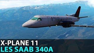 That Turboprop Roar, LES Saab 340A, PilotEdge ✈️ 2018-03-23
