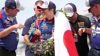 Sato becomes first Japanese driver to win Indianapolis 500