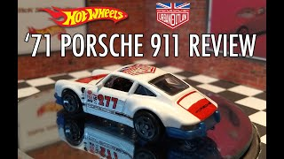 Hot Wheels Magnus Walker 71 Porsche 911 Review: 2018 E Case #115