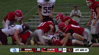 Morenci Bulldogs vs Clinton Redskins (2016 Football)