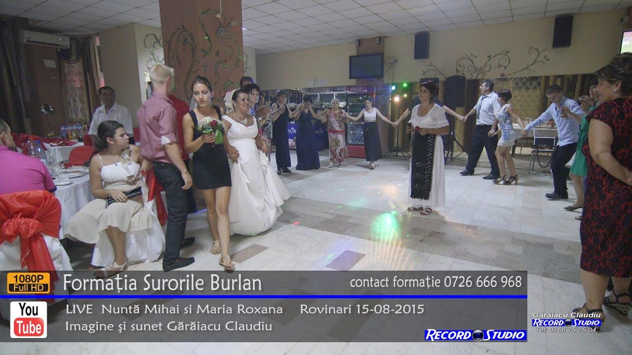 ♫ Surorile Burlan Colaj HORA part.4 LIVE Nunta Mihai si Maria Roxana 15-08-2015