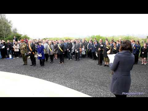 Anzac Day Ceremony at New Zealand Memorial Messines