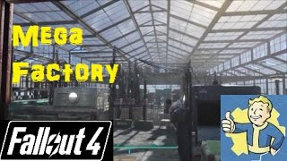 Fallout 4: Massive Factory at Abernathy Farm!