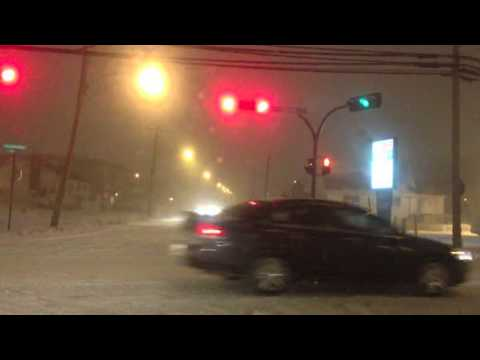 Storm hitting Eastern Canada SNOW Dec 27th