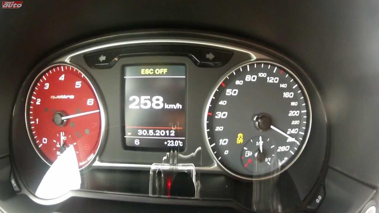 Audi A1 Quattro 0 259 Km H Gravel Tarmac Acceleration Top Speed Test Sport Auto Christian