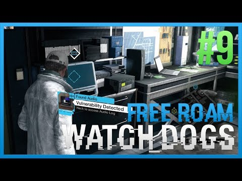 WATCH DOGS Free Roam Gameplay #9 - SECRET HIDEOUT (WatchDogs Single Player Free Roam) [PC 1080p]