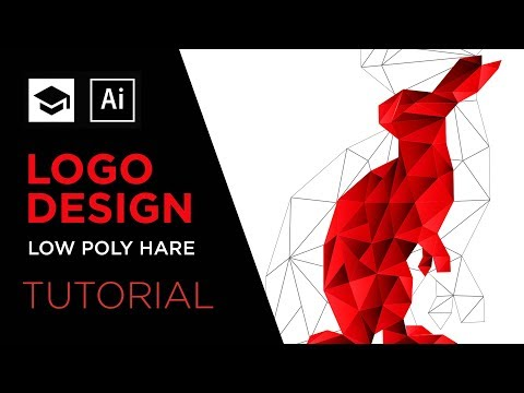 How To Design A Low Poly logo | Adobe Illustrator