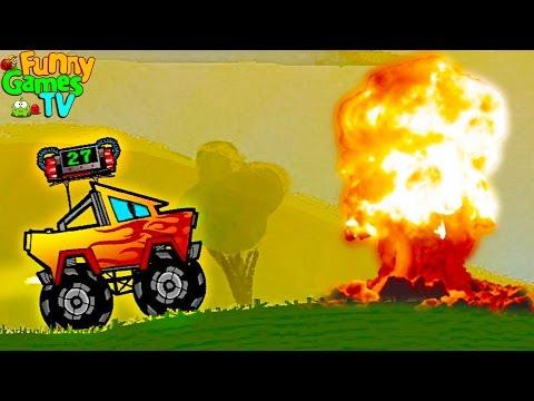 Мультики про машинки для детей Гоняем на тачках с Бомбою на крыше веселый развивающий мультфильм