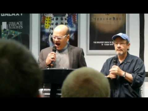 Robert Picardo & Ethan Phillips singing
